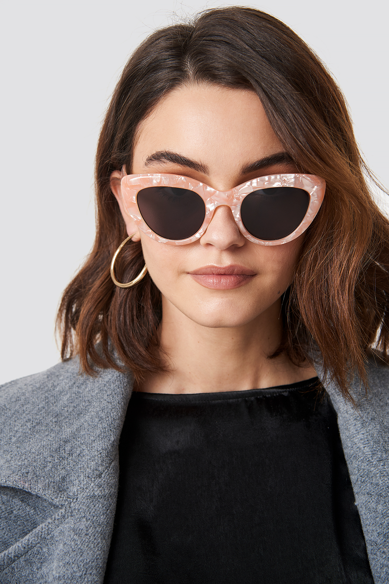 xle the label -  Angie Cat Eye - Pink