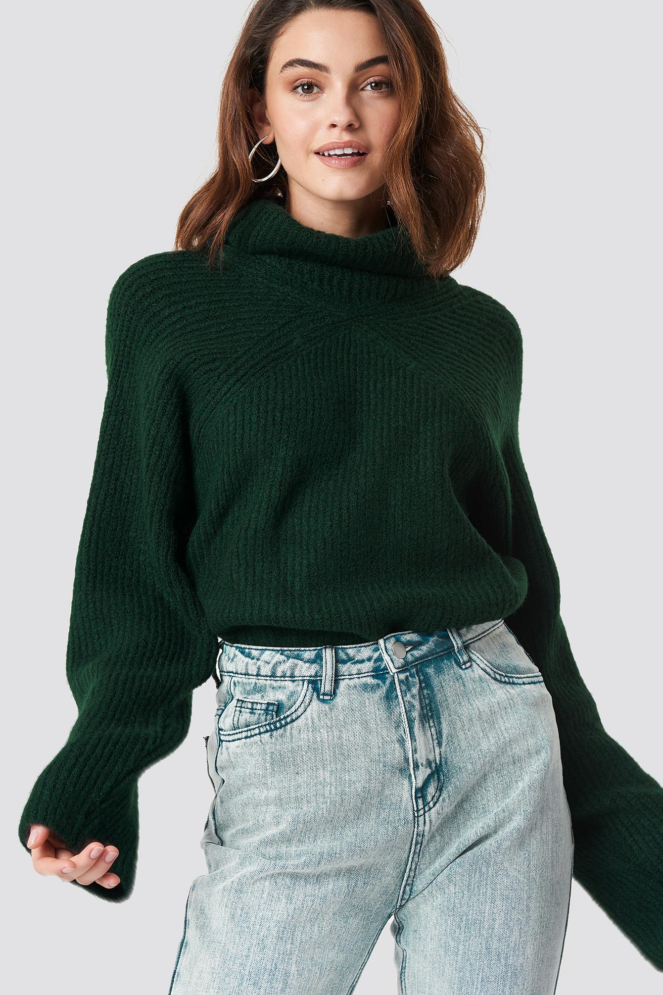 Christina High Neck Sweater NA-KD.COM
