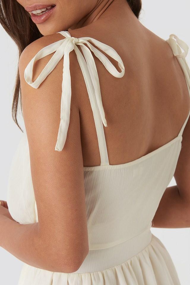 Elio Mini Dress Offwhite