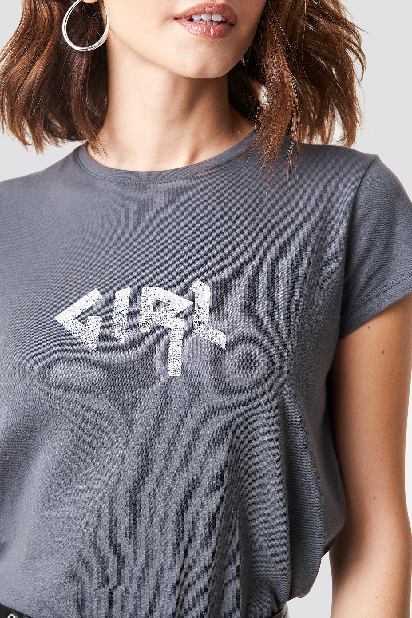 The Girl Tee NA-KD.COM