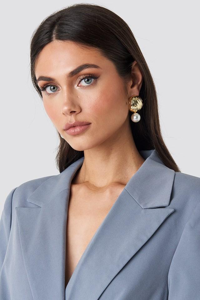 Yol Pearl Earring Trendyol