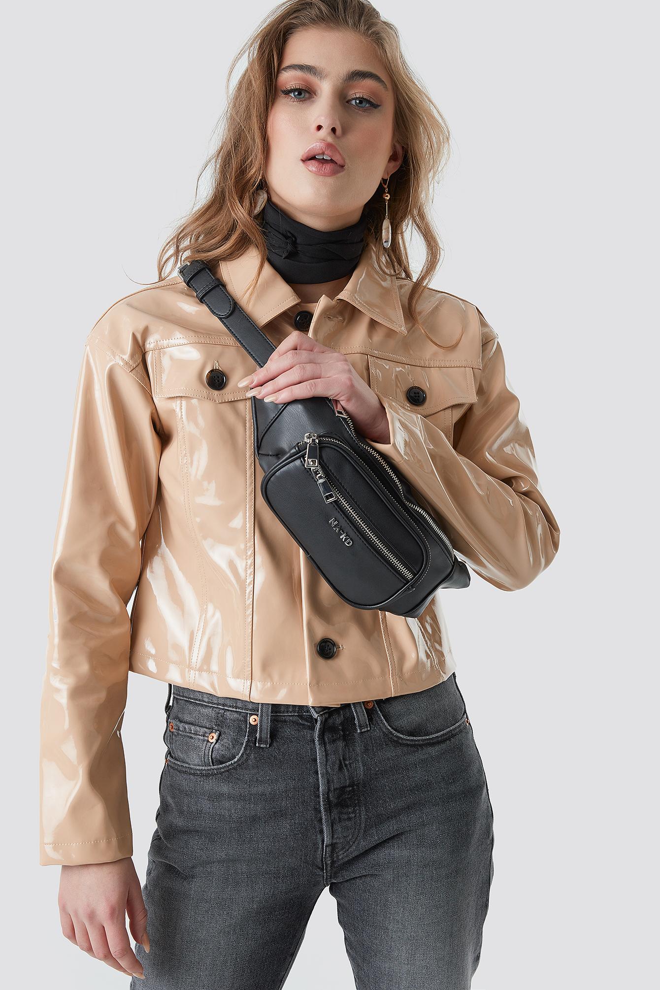 na-kd accessories -  Zipper Fanny Pack - Black