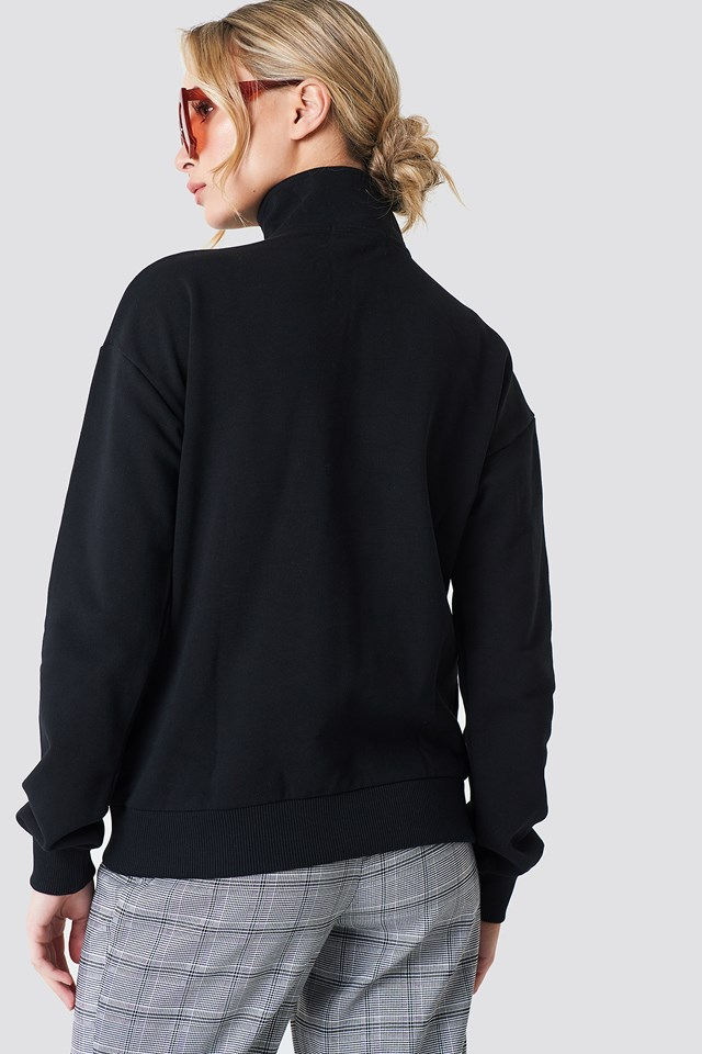 Zipper Sweatshirt NA-KD.COM