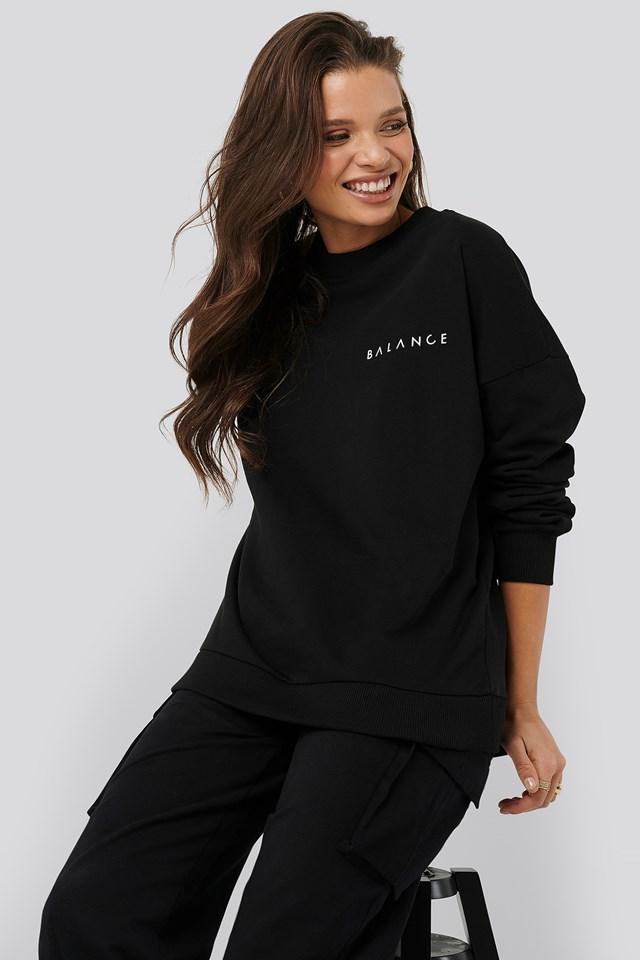 Balance Sweater Black