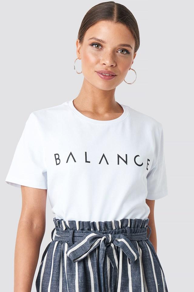 Balance Tee NA-KD.COM