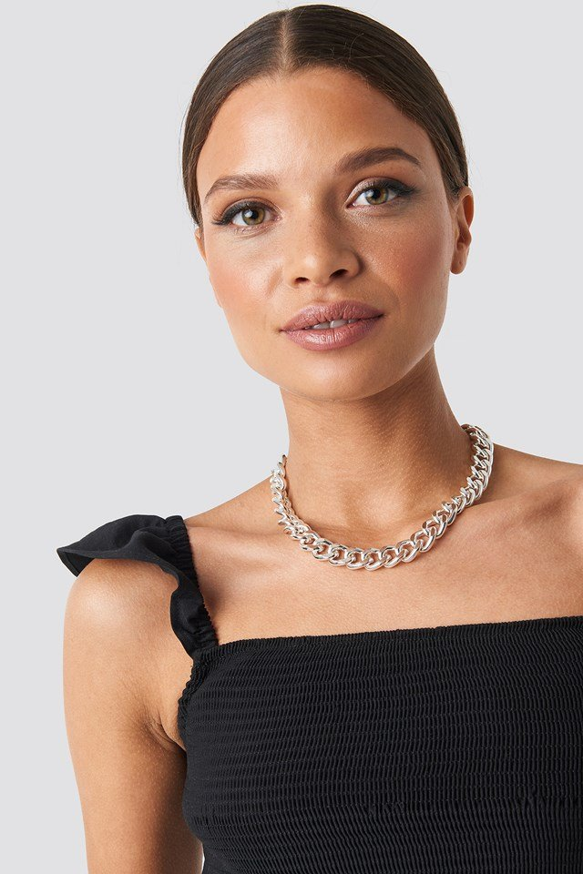 Big Chain Necklace Silver