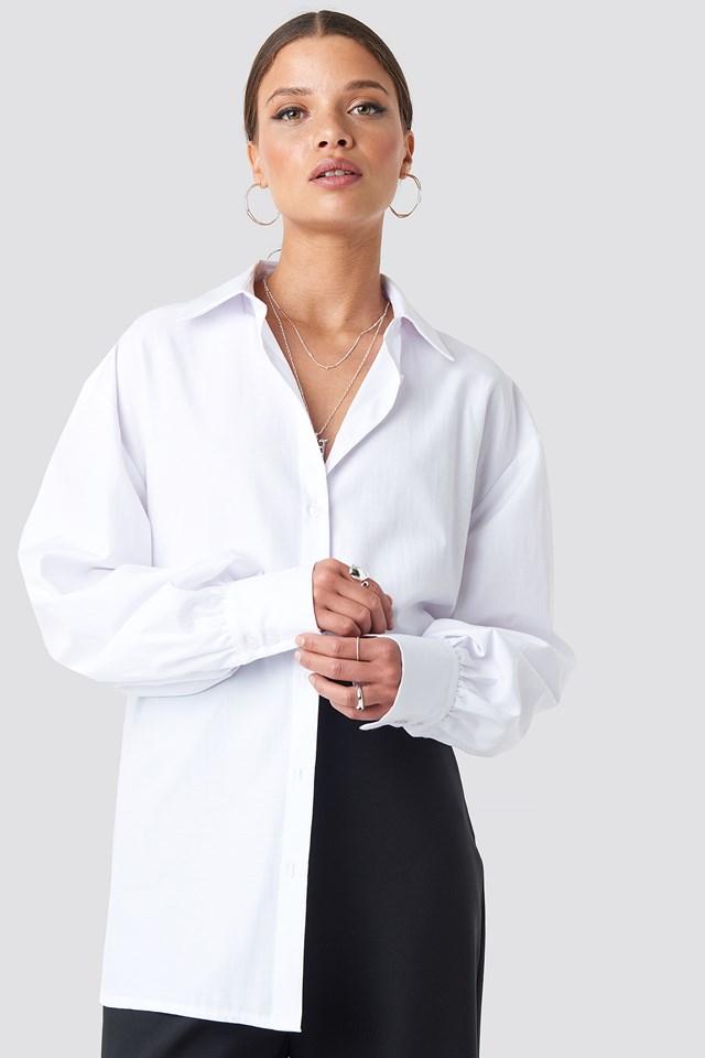 Oversized Shirt White