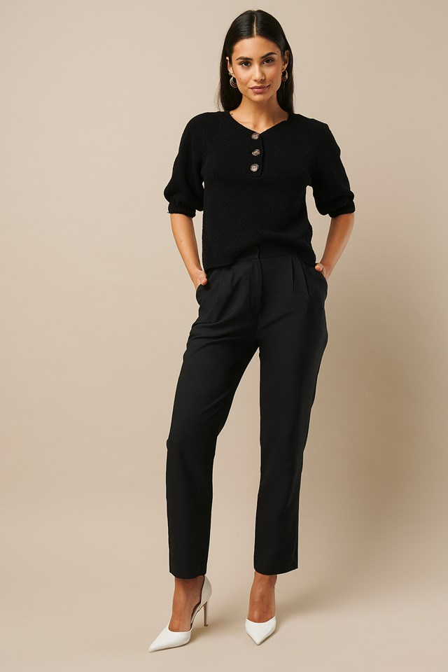 High Waist Suit Pants Nicki x NA-KD