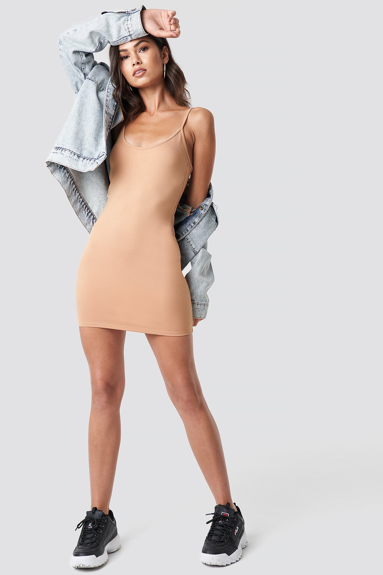 Thin Strap Bodycon Dress NA-KD.COM