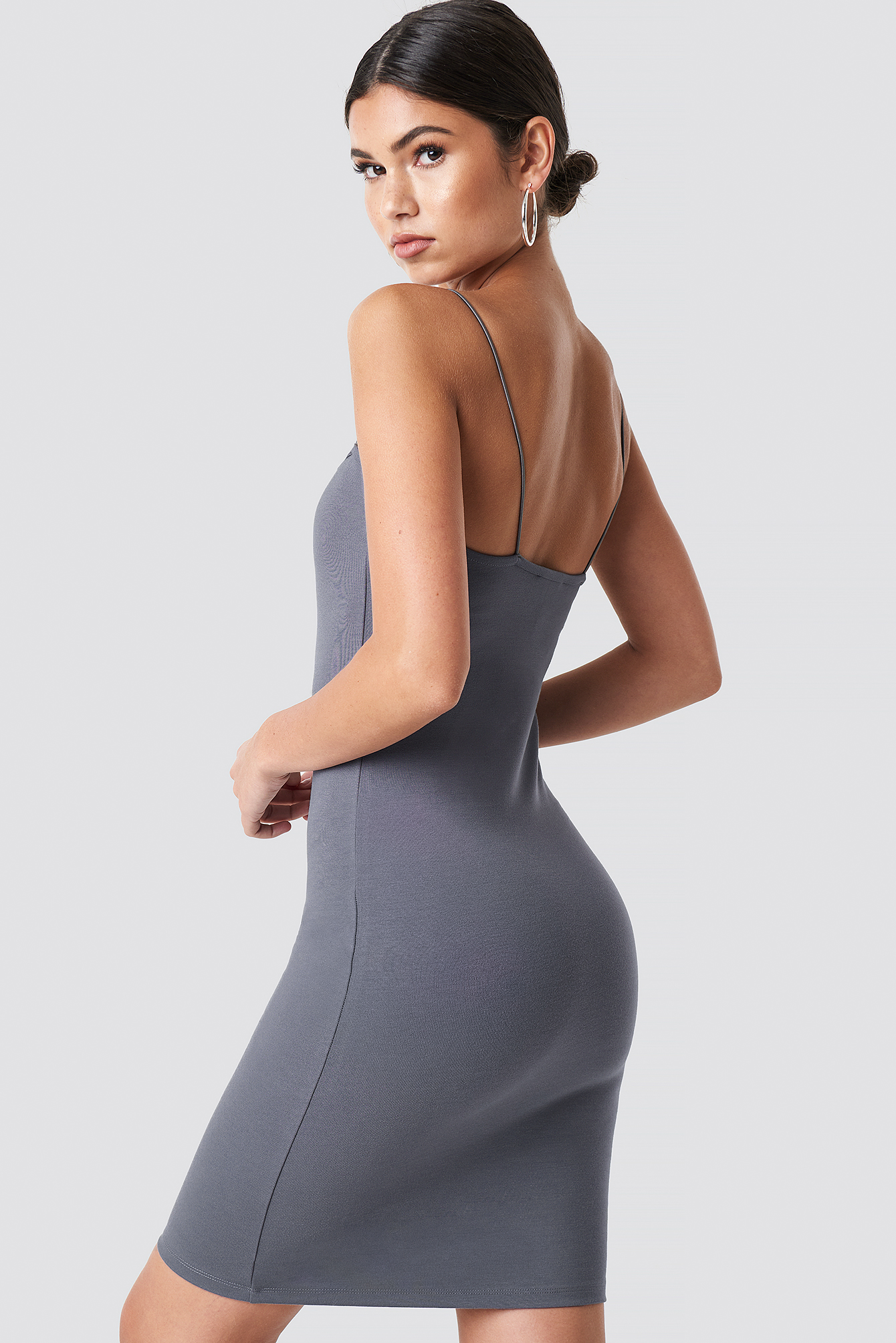 Bodycon Spaghetti Strap Dress NA-KD.COM