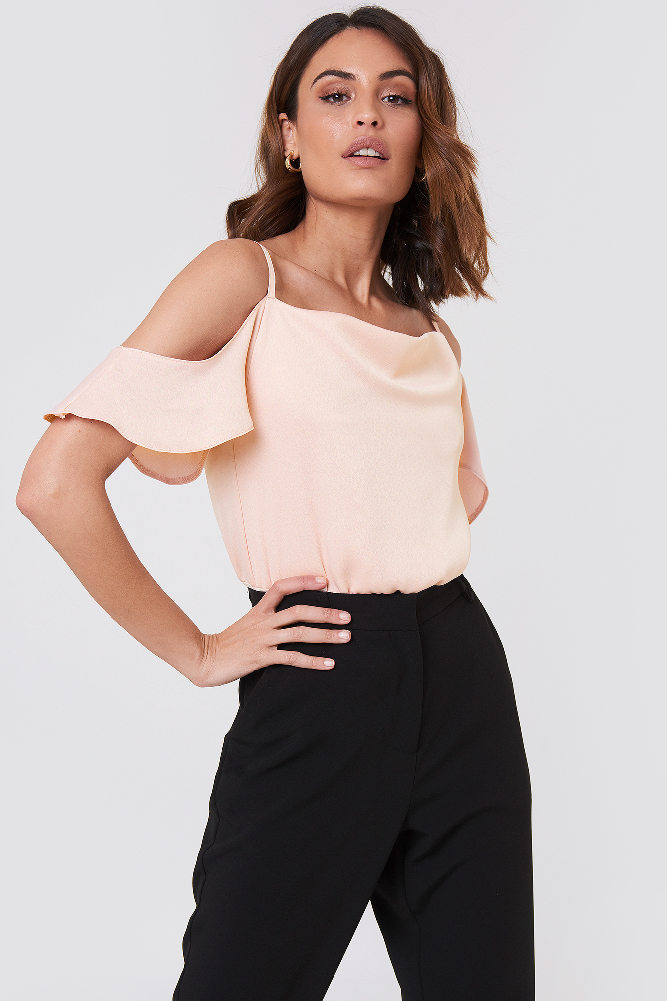 Off Shoulder Bodysuit NA-KD.COM