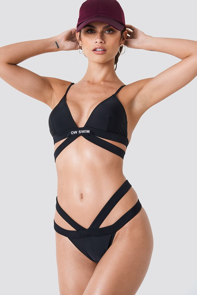 Bali Swim Top Black