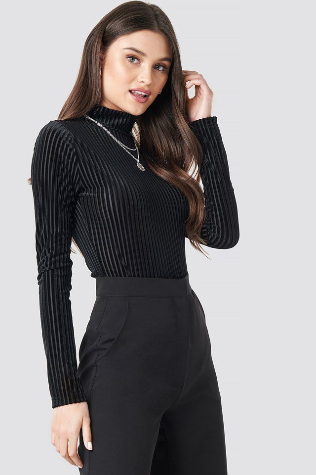 Eva Bodysuit Black Caviar