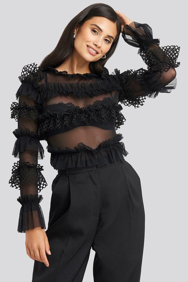Grace Bodysuit Black Caviar