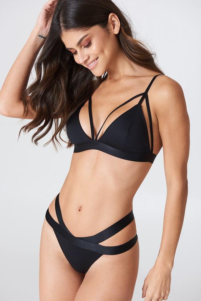 Natasha Bra Black