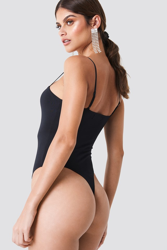 Willow Bodysuit Black