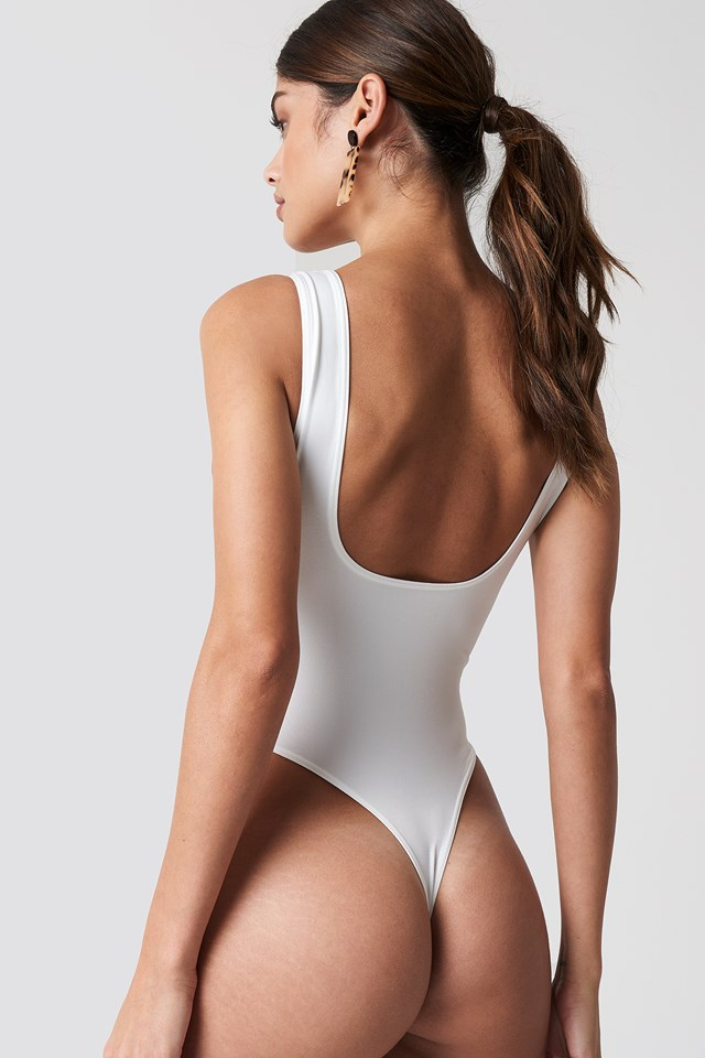 Hanna Bodysuit White