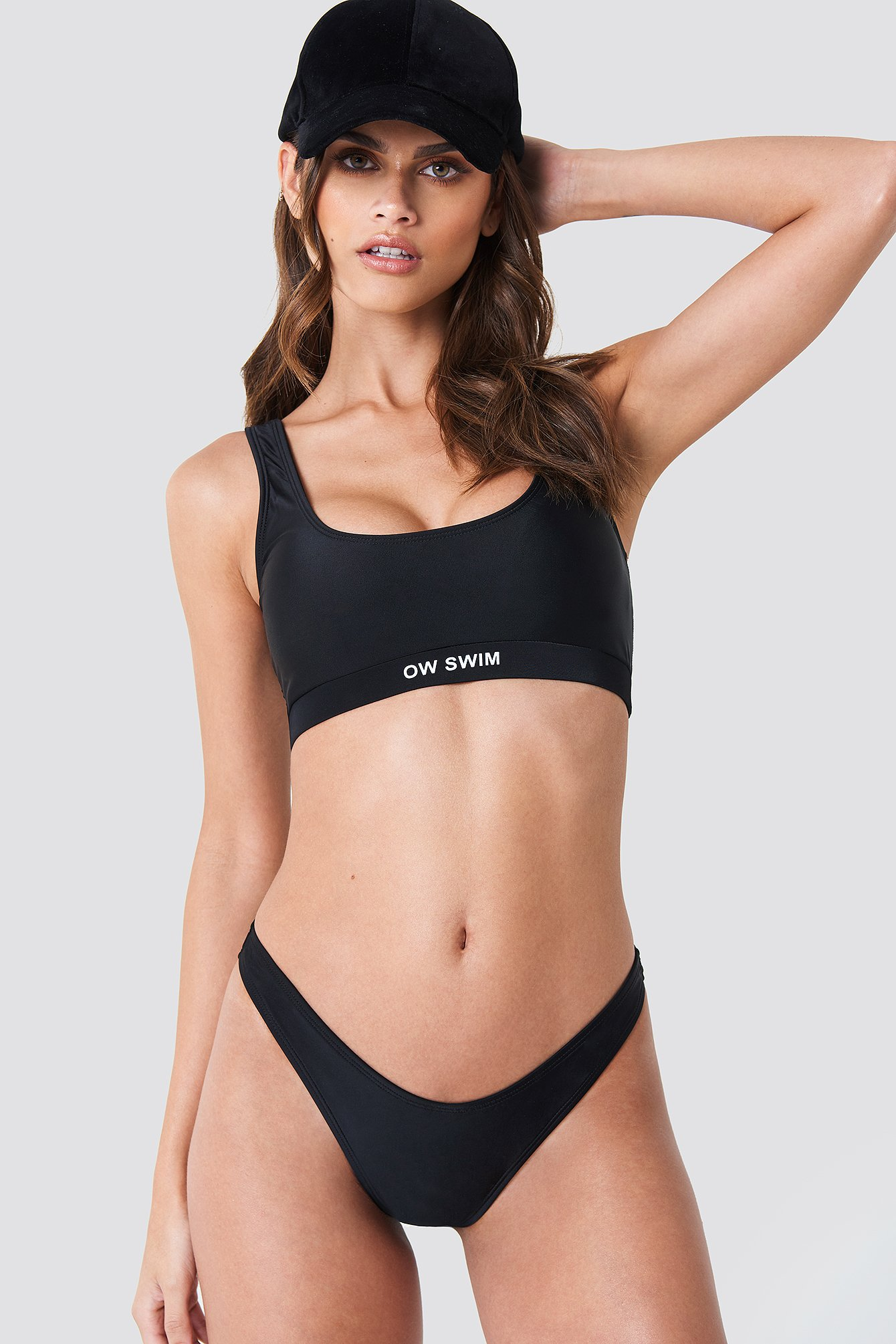 OW INTIMATES MAUI SWIM BOTTOM - BLACK
