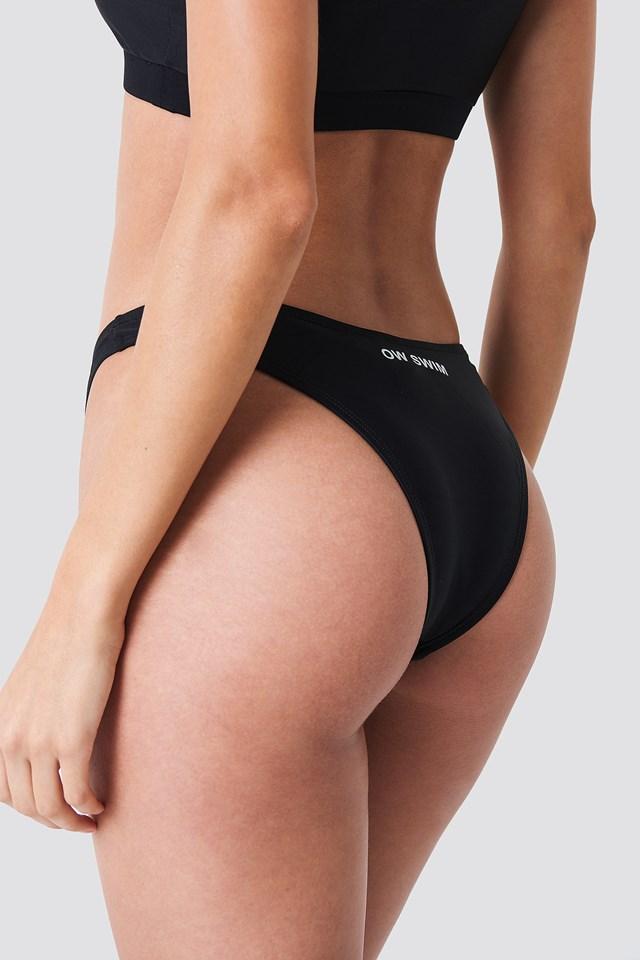 Maui Swim Bottom Black