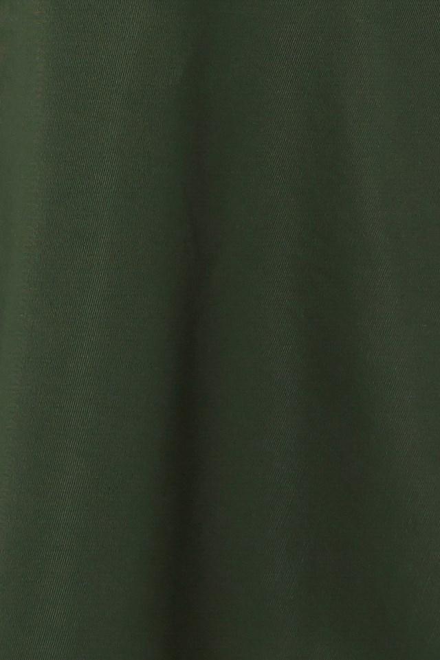 Halter Neck Skater Dress Green