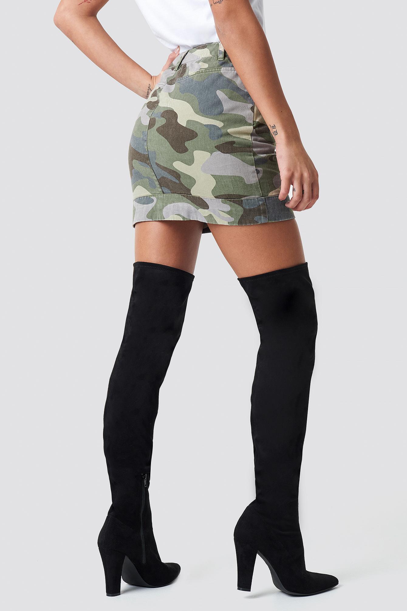 Camo Skirt NA-KD.COM