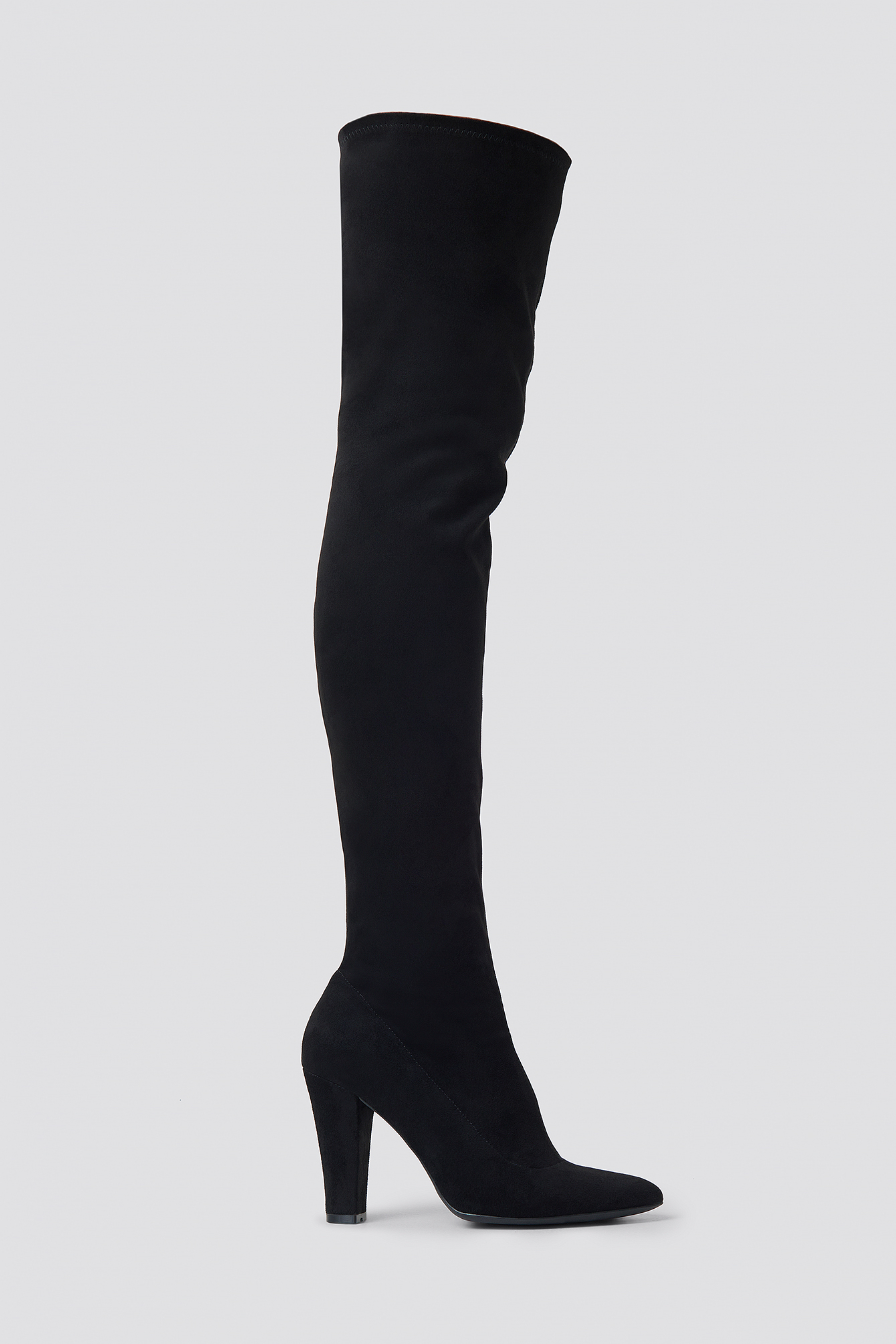 Overknee Faux Suede Boots  NA-KD.COM