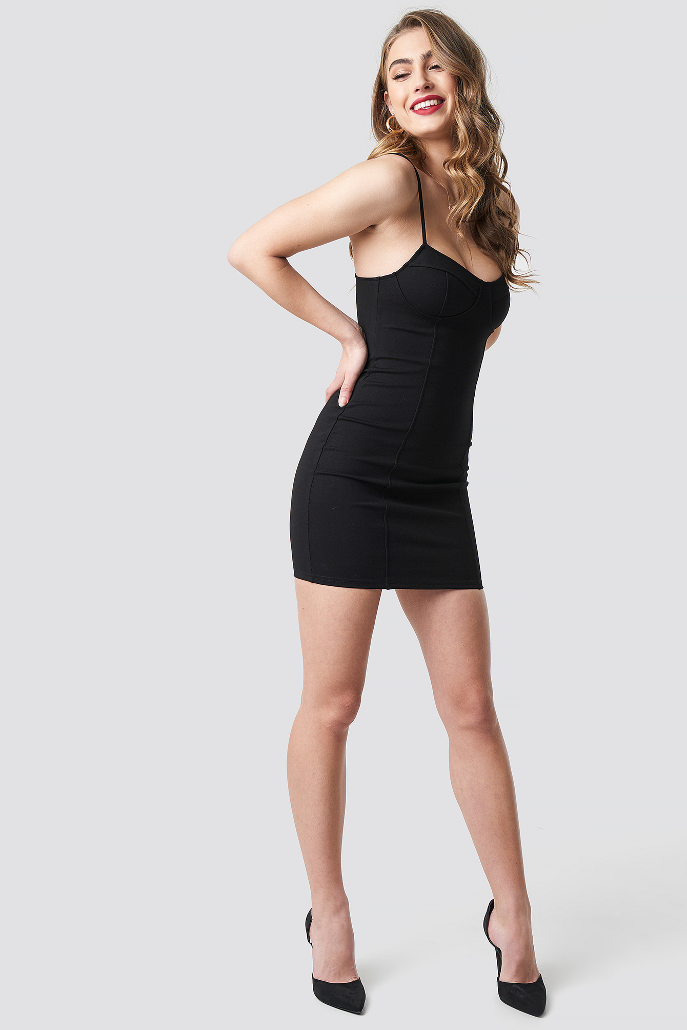 Tight Short Cup Dress NA-KD.COM
