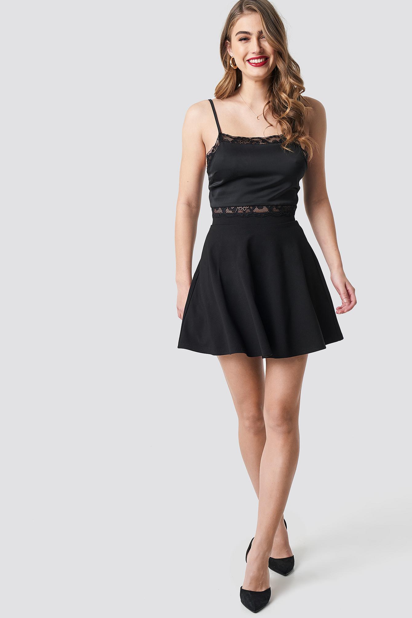 Circle Cut Skirt NA-KD.COM