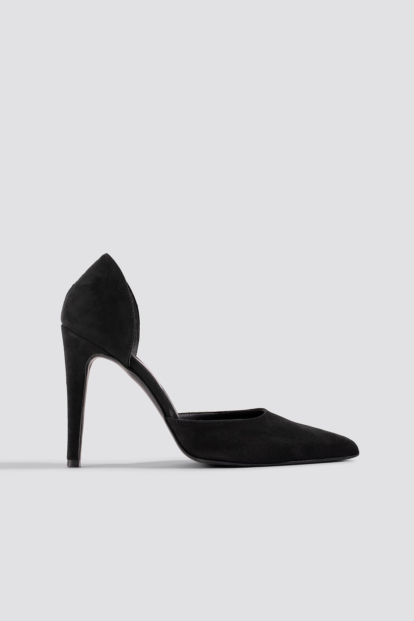 Pointy Faux Suede Pumps NA-KD.COM