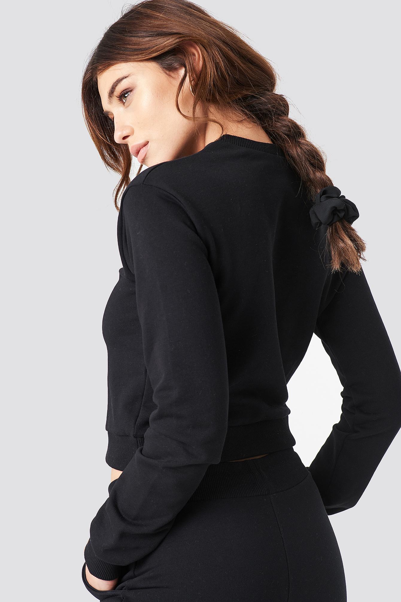 Round Neck Soft Sweatshirt NA-KD.COM