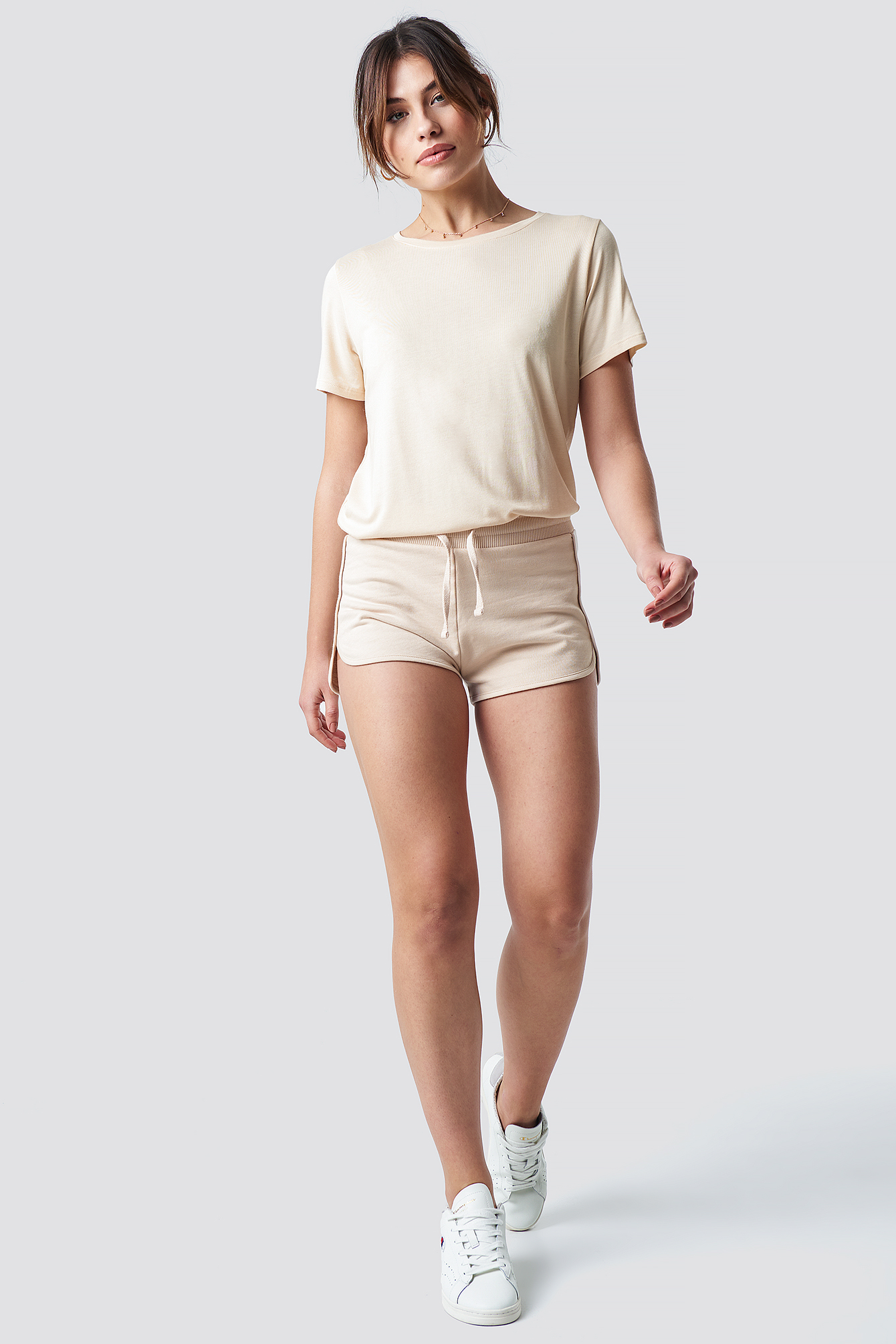 Soft Sweater Shorts NA-KD.COM