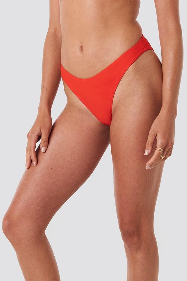 Basic Bikini Bottom Red