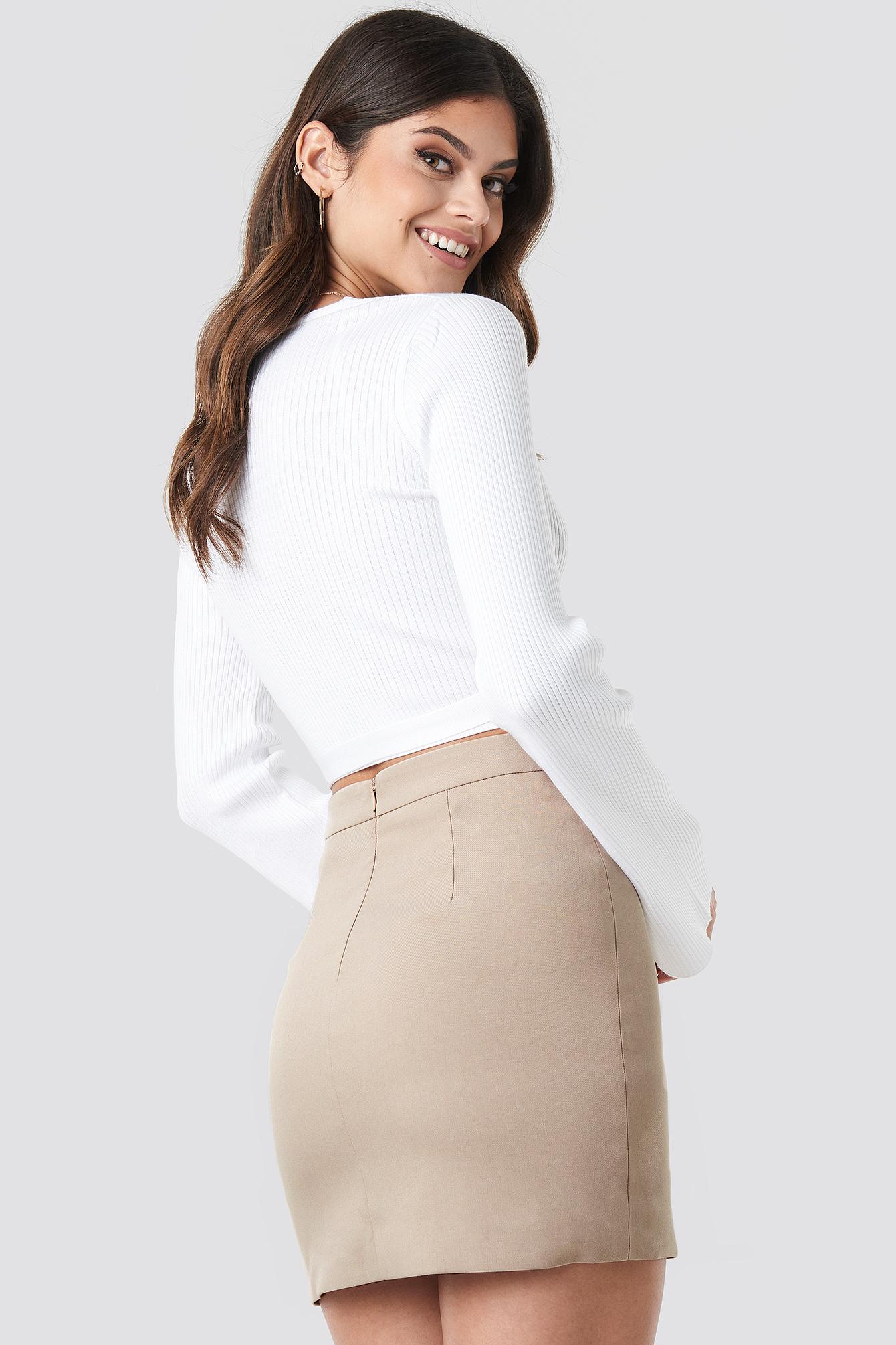 Tailored Mini Skirt NA-KD.COM