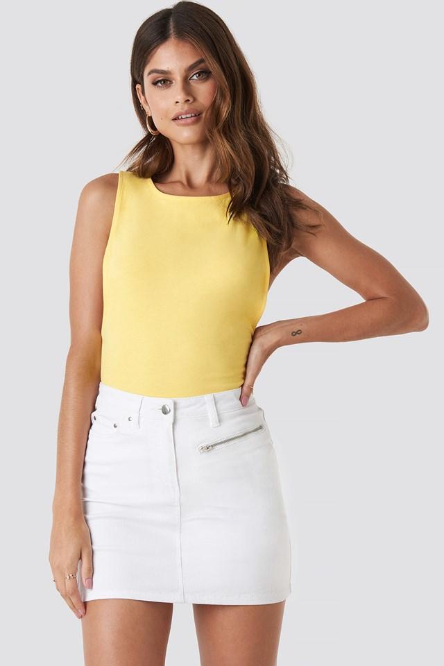 Denim Mini Skirt Paulinye x NA-KD