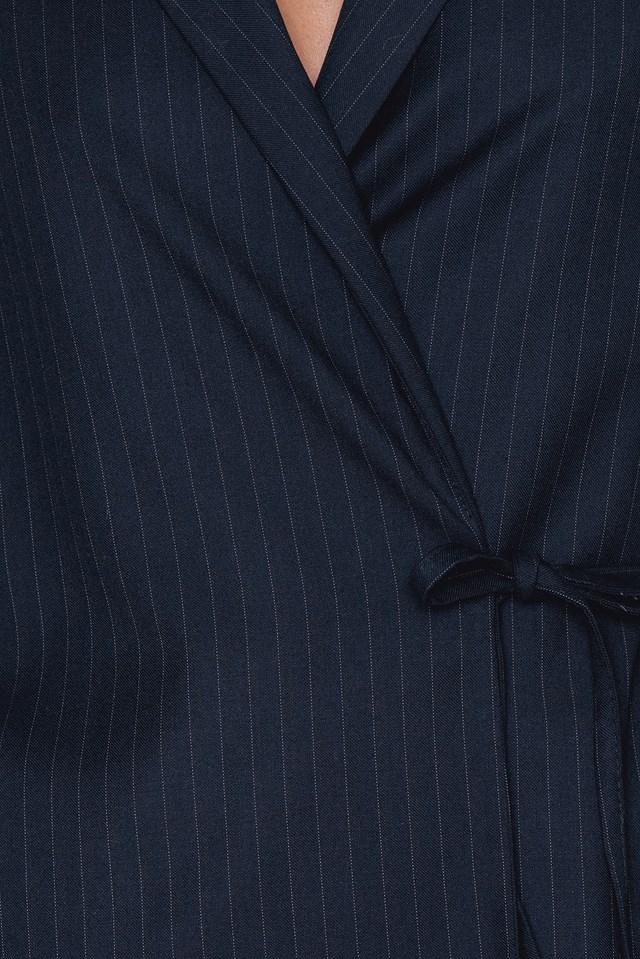 Open Sleeve Overlap Blazer NA-KD.COM