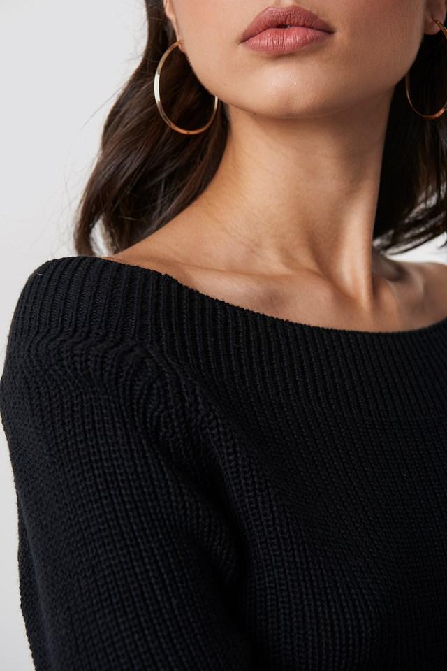 Quini Pullover Wide Neck NA-KD.COM