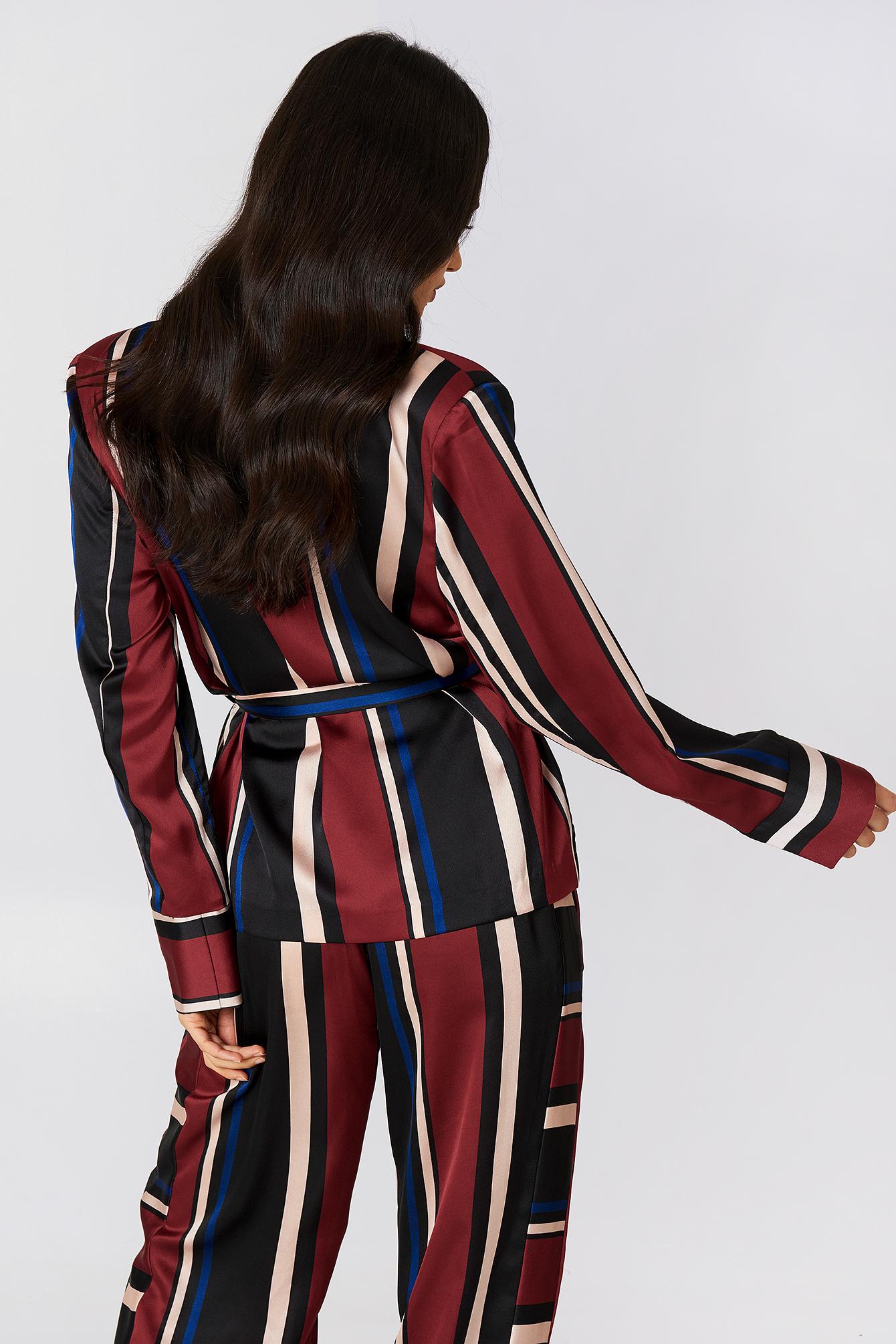 Multi Stripe Blazer NA-KD.COM