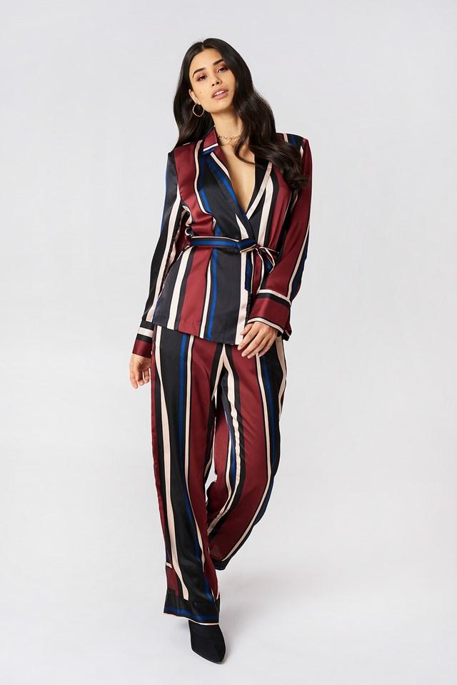 Multi Stripe Blazer Multi Stripe