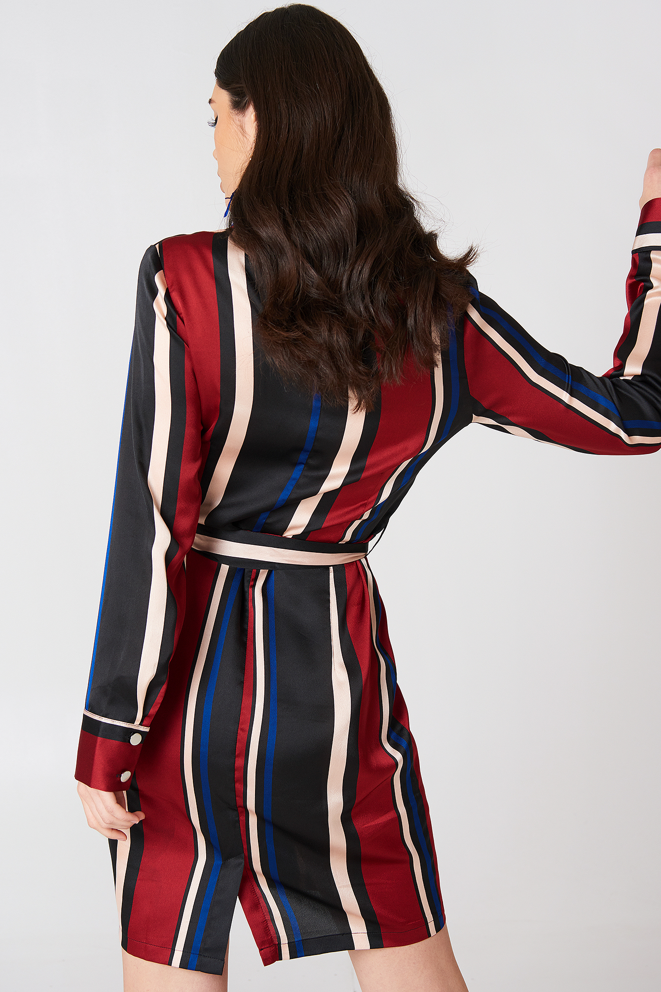 Multi Stripe Dress NA-KD.COM