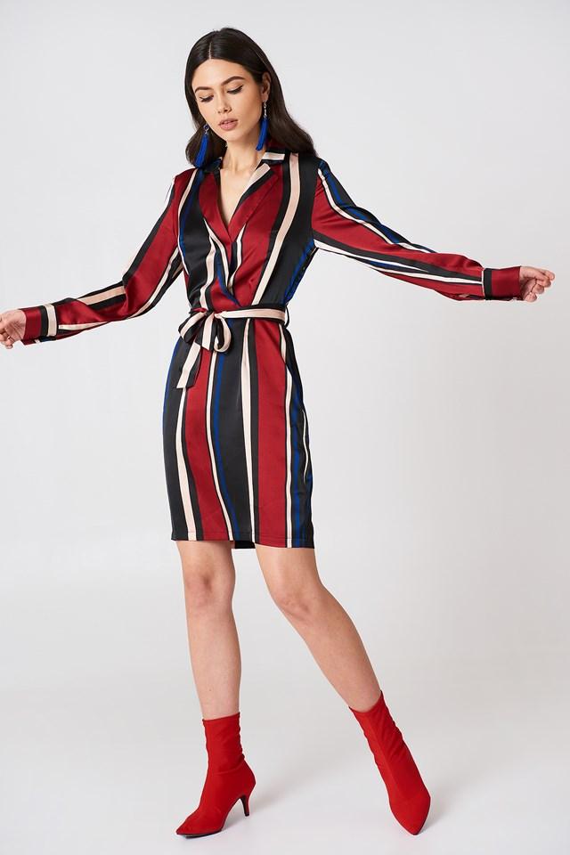 Multi Stripe Dress Multi Stripe