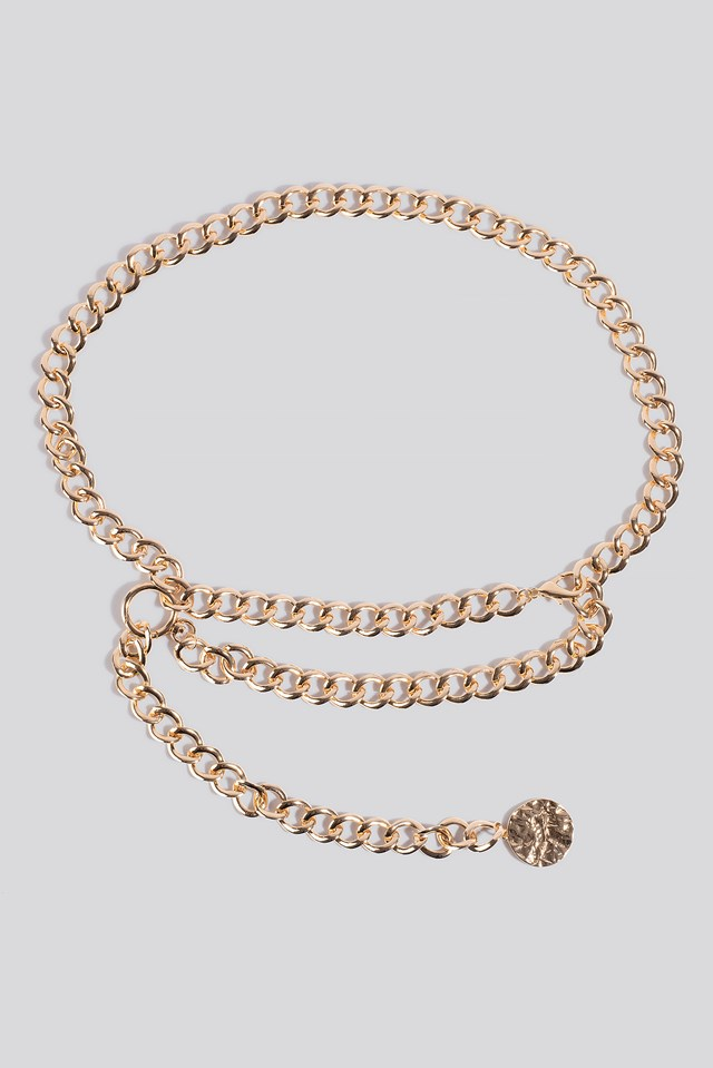 Glam Waist Chain Gold