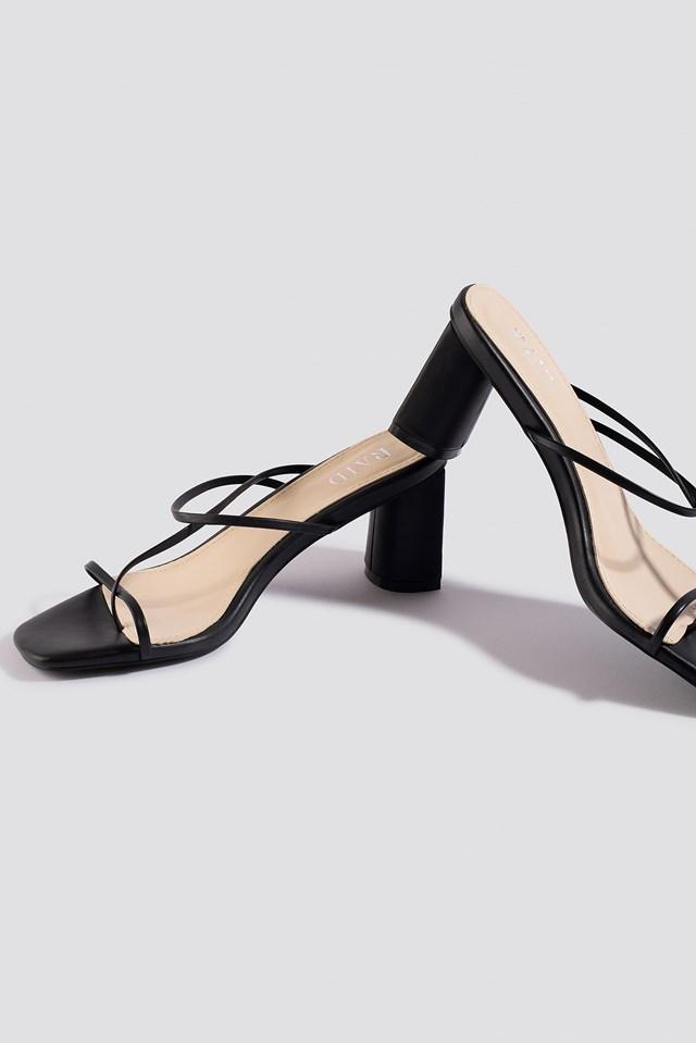 Brioni Sandals Black PU