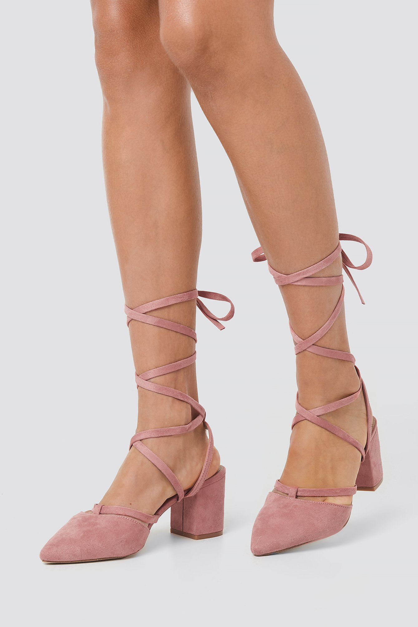 raid -  Elyza Court Shoe Heel - Pink