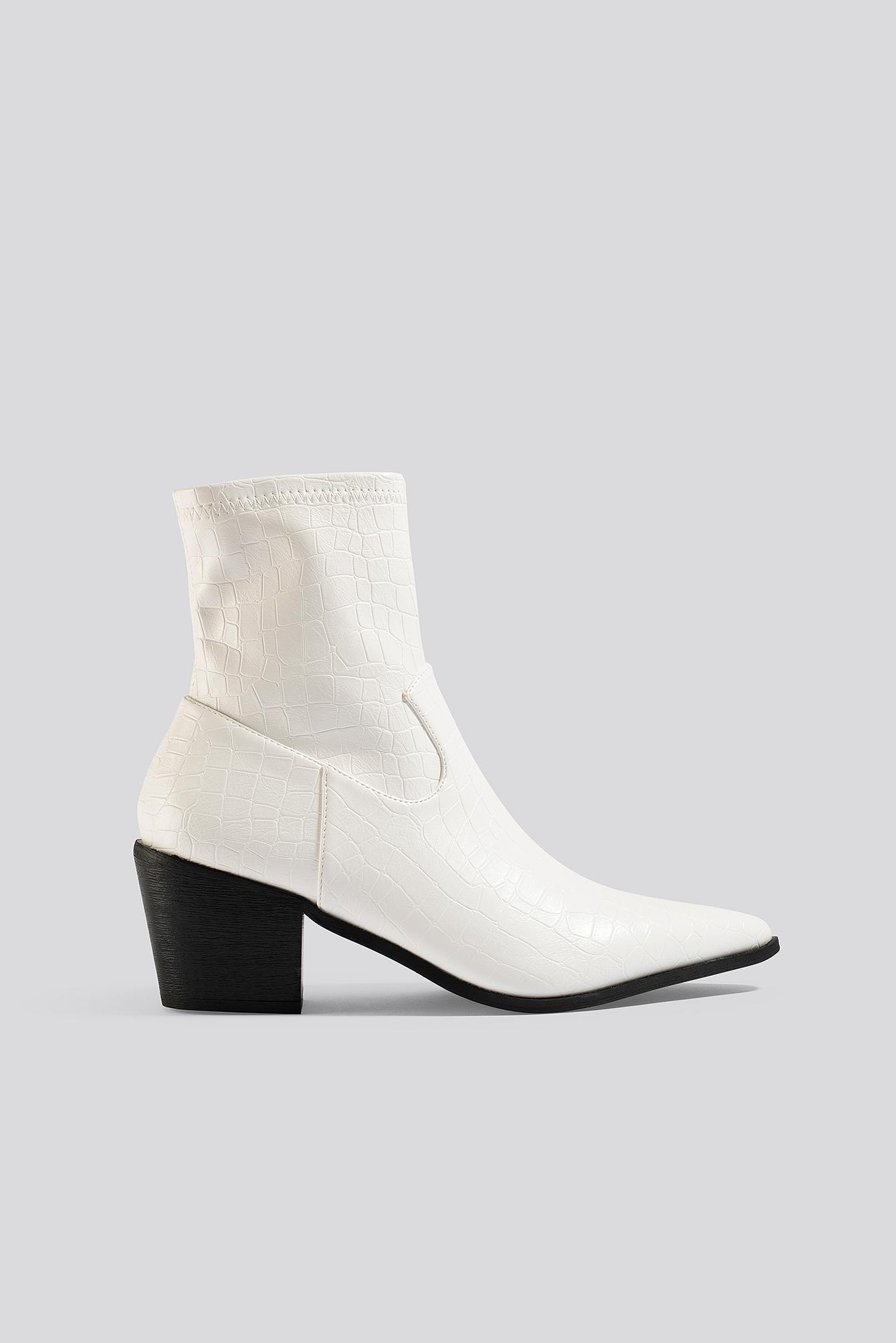 raid -  Mira Ankle Boots - White