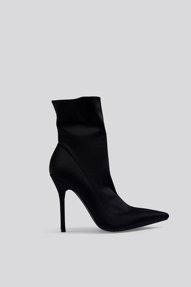 Presca Ankle Boots Black