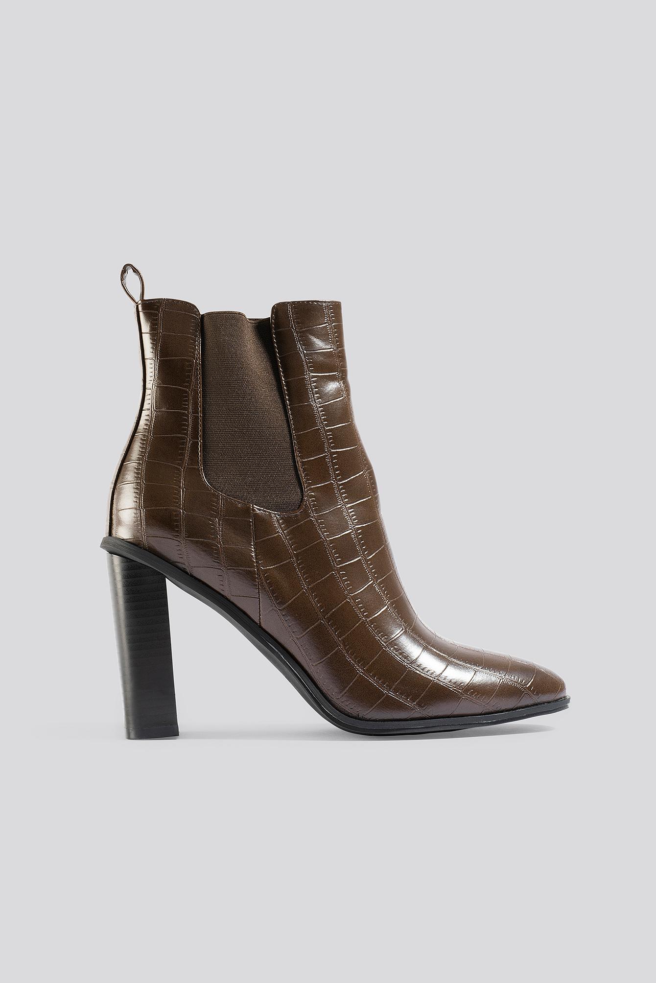 Raid Scarlette Ankle Boots - Brown | Schuhe > Stiefeletten > Ankleboots | Raid