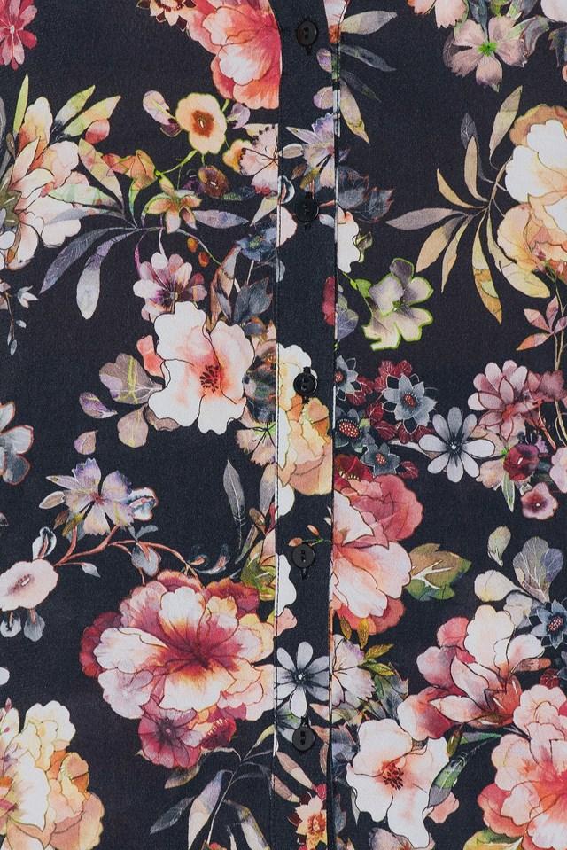Cherry Shirt Black