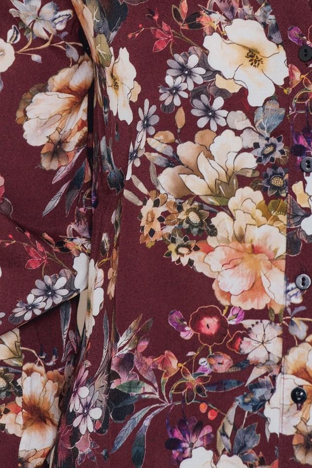 Cherry Shirt Bordeaux