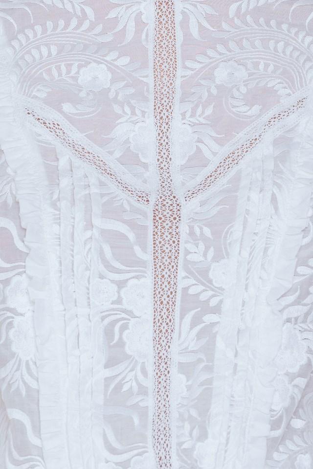Elly Dress White