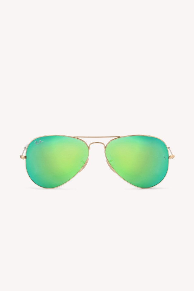 Aviator 3 Matte Gold